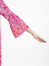 Bild von Kleid mit Print und Stickerei