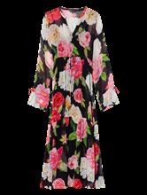 Bild von Kleid mit Blumen-Print aus Chiffon