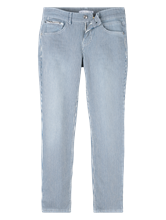 Bild von Jeans im Straight Fit mit Streifen