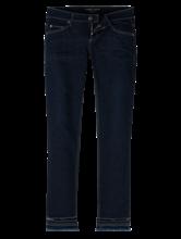 Bild von Jeans im Slim Fit mit Lochstickerei und offenem Saum