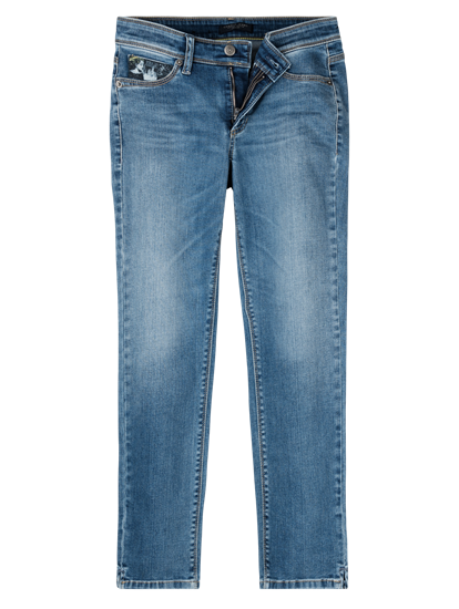 Bild von Jeans mit Swarovski Detail PIPER