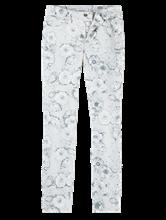 Image sur Jean avec imprimé floral PARLA