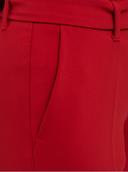 Bild von Hose aus Crepe mit Gürtel