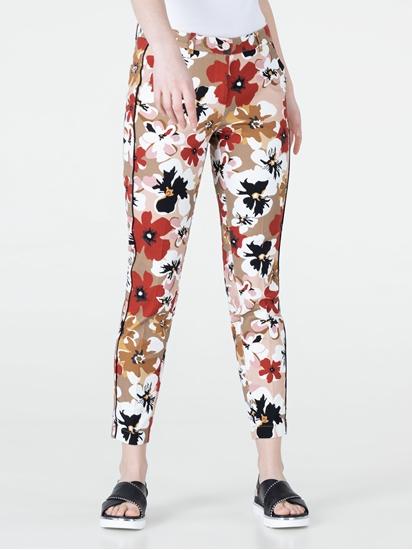 Image sur Pantalon imprimé fleuri RAVEN
