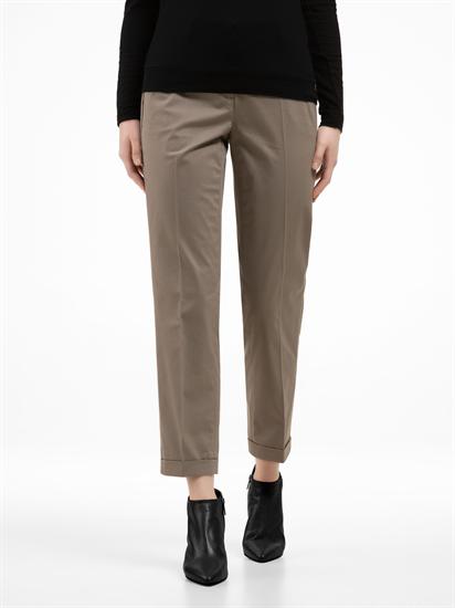 Image sur Pantalon avec revers GINGER