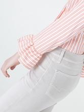Image sur Denim coloré cheville skinny