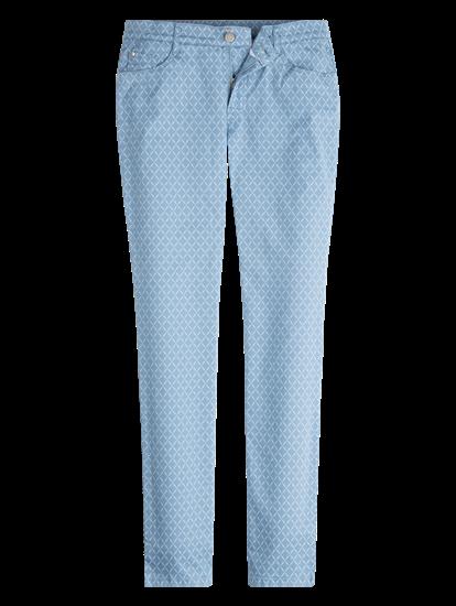 Image sur Pantalon imprimé MARY