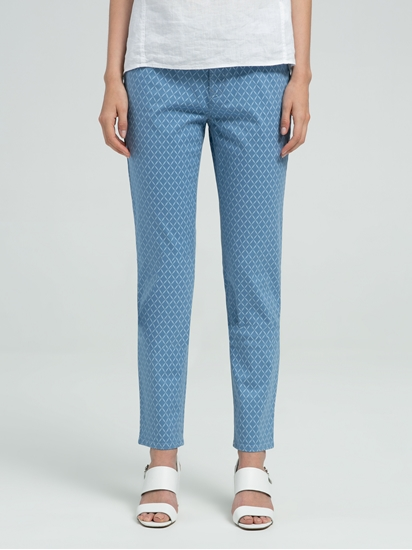 Image sur Pantalon avec imprimé CARO