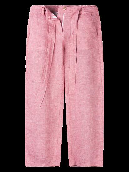 Image sur Pantalon lin micro motif MAINE