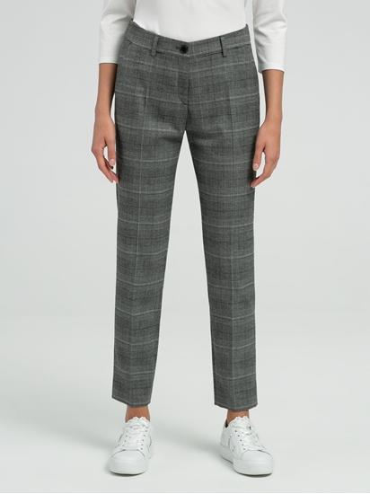 Image sur Pantalon Slim Fit à carreaux MARON