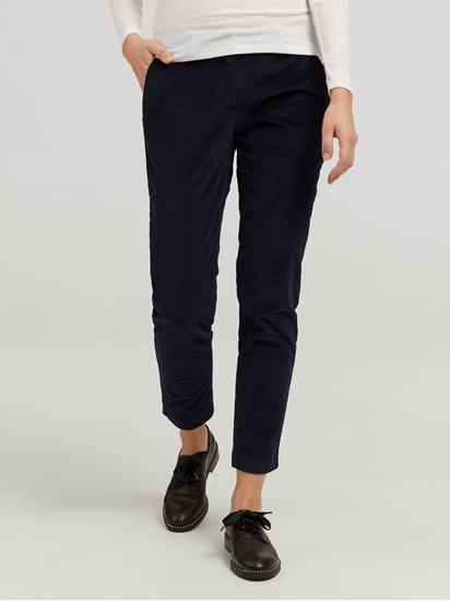 Image sur Pantalon velours MARON