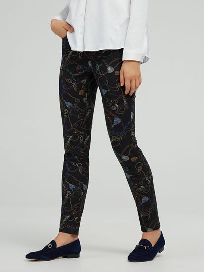 Bild von Skinny Jeans mit Print