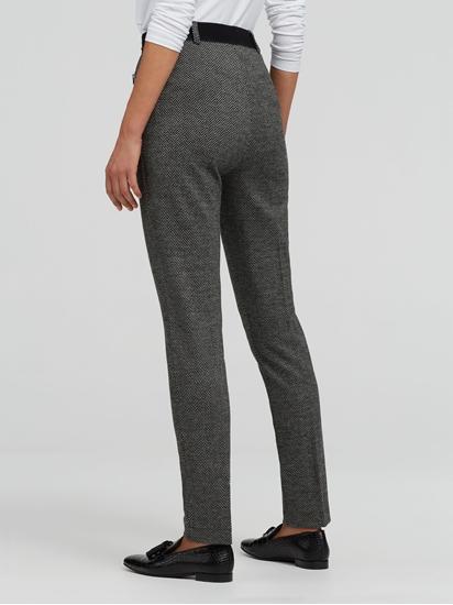 Image sur Pantalon Super Slim Fit motif à chevrons LILLYTH