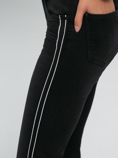 Bild von Jeans mit seitlichen Einsätzen