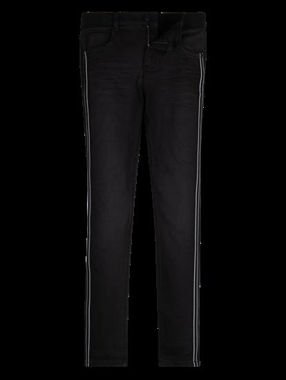 Image sur Jeans mit seitlichen Einsätzen