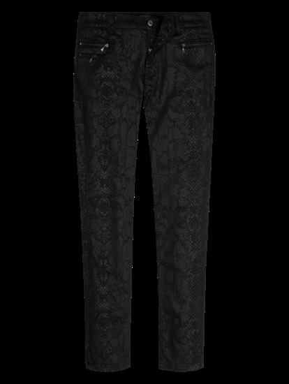 Bild von Jeans in Krokodil-Optik