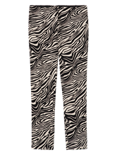 Bild von Hose mit Zebra-Print ROS