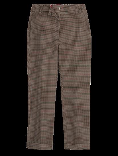 Bild von Hose mit Hahnentritt-Muster
