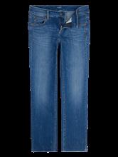 Bild von Jeans im Straight Fit mit Strasssteinen TESS