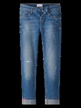 Bild von Jeans im Slim Fit mit farbigen Strasssteinen TESS