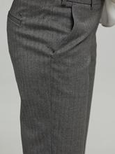 Bild von Businesshose mit Fischgrat-Muster MARON