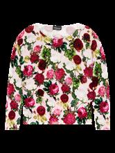 Image sur Pullover imprimé fleuri