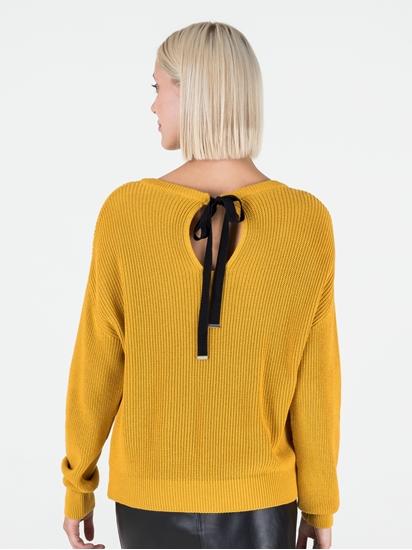 Image sur Pullover avec noeud