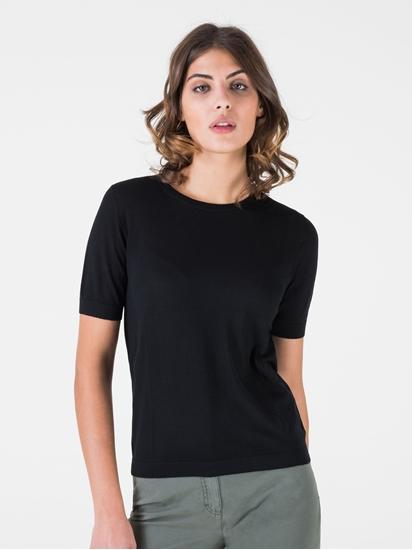 Image sur T-shirt laine mérinos