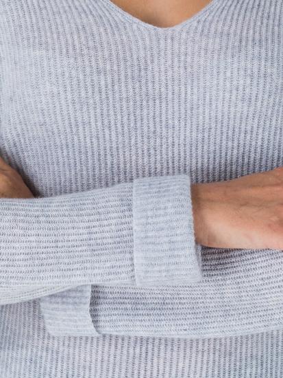 Image sur Pullover en cachemire côtelé