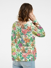 Bild von Pullover mit Blumen-Print