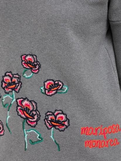 Bild von Pullover mit Stickerei