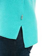 Bild von Pullover mit Stickerei und Streifen