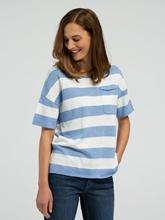 Bild von Shirt aus Flammgarn mit Streifen