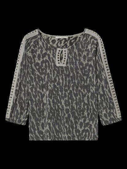 Image sur Pullover imprimé et lurex