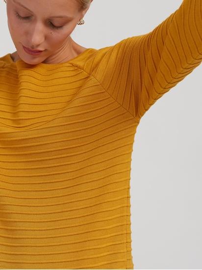 Image sur Pullover texturé et cordon de serrage