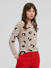 Image sur Pullover maille motif maille