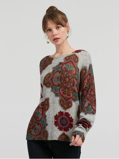 Image sur Pullover motif Paisley