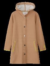 Image sur Manteau maille coutures contrastes
