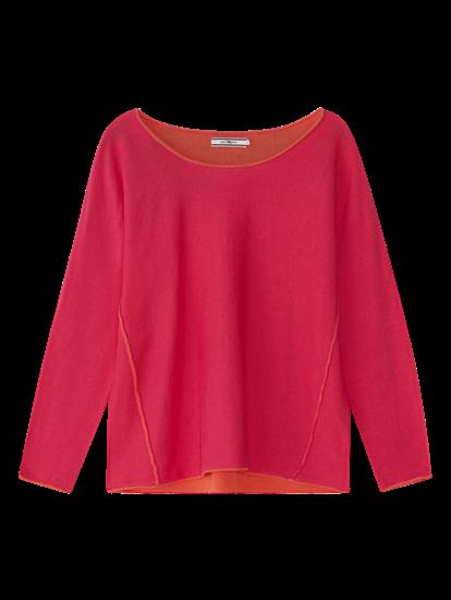 Image sur Pullover avec coutures contrastes