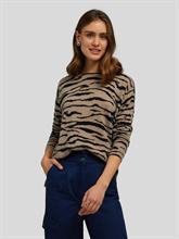 Bild von Pullover mit Tigerdruck