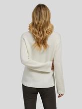 Image sur Pullover laine avec perles