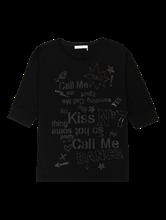 Bild von Shirt mit Glitzer