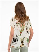 Bild von Oversized Blusenshirt mit Print