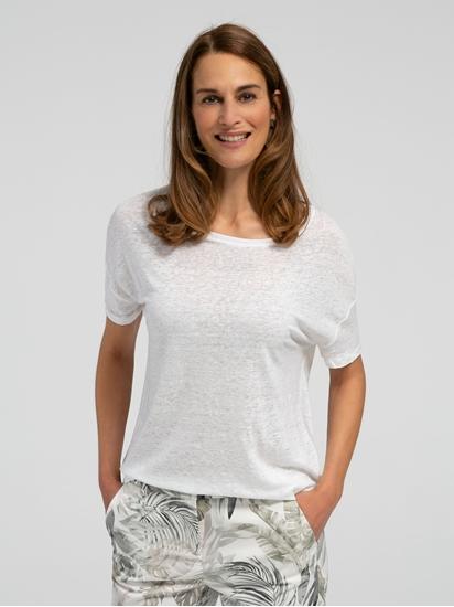 Bild von Oversized T-Shirt aus Flammgarn