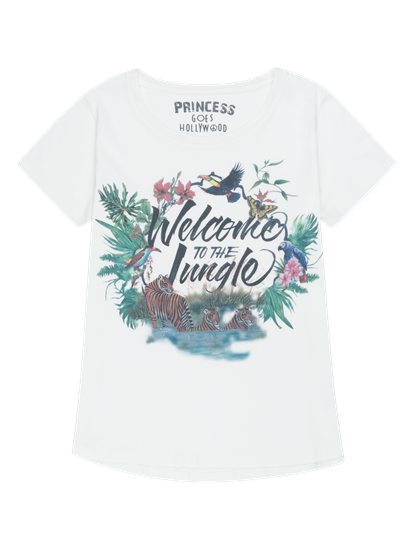 Image sur T-Shirt mit Print