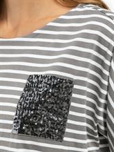 Image sur Shirt à paillettes et rayures