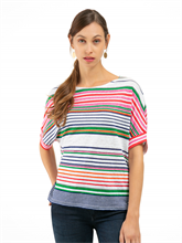 Bild von Oversized Shirt mit Streifen RACHEL