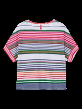 Image sur Shirt oversized à rayures RACHEL