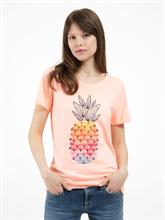 Image sur T-shirt avec broderies