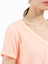 Image sur T-shirt à noeuds